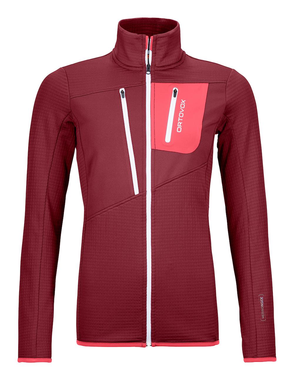 Ortovox - Fleece Grid Jacket W, Fleece Jacke