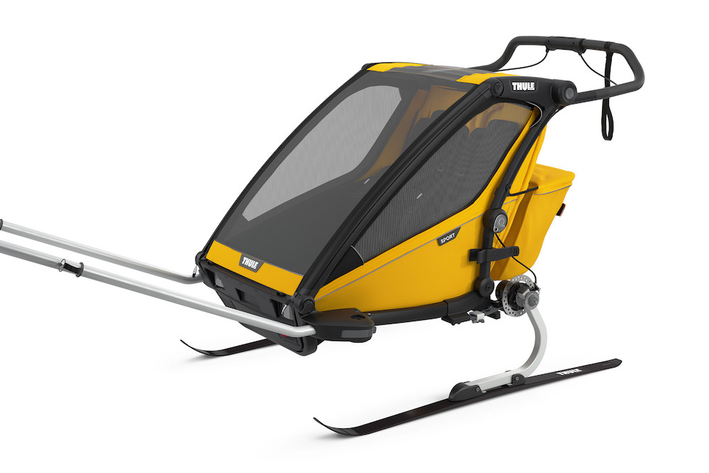 Thule Chariot Sport 2 Spectra Yellow, Detailansicht 4