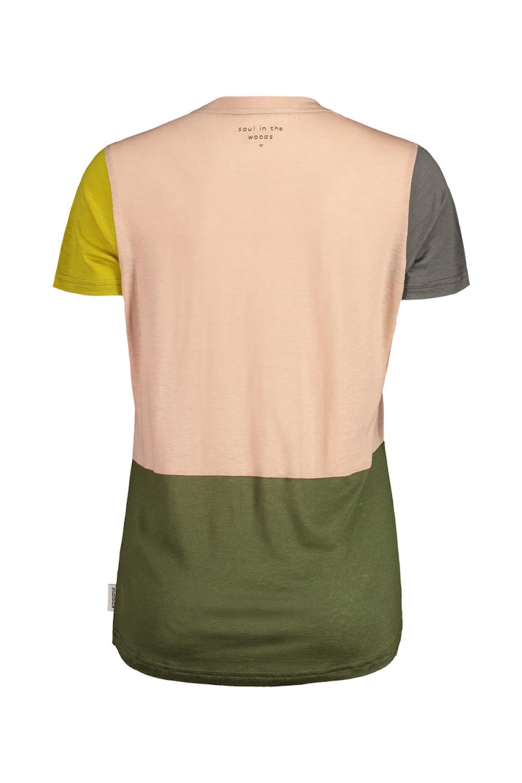 Maloja AlmenrauschM. T-Shirt Bloom Multi, Rückansicht