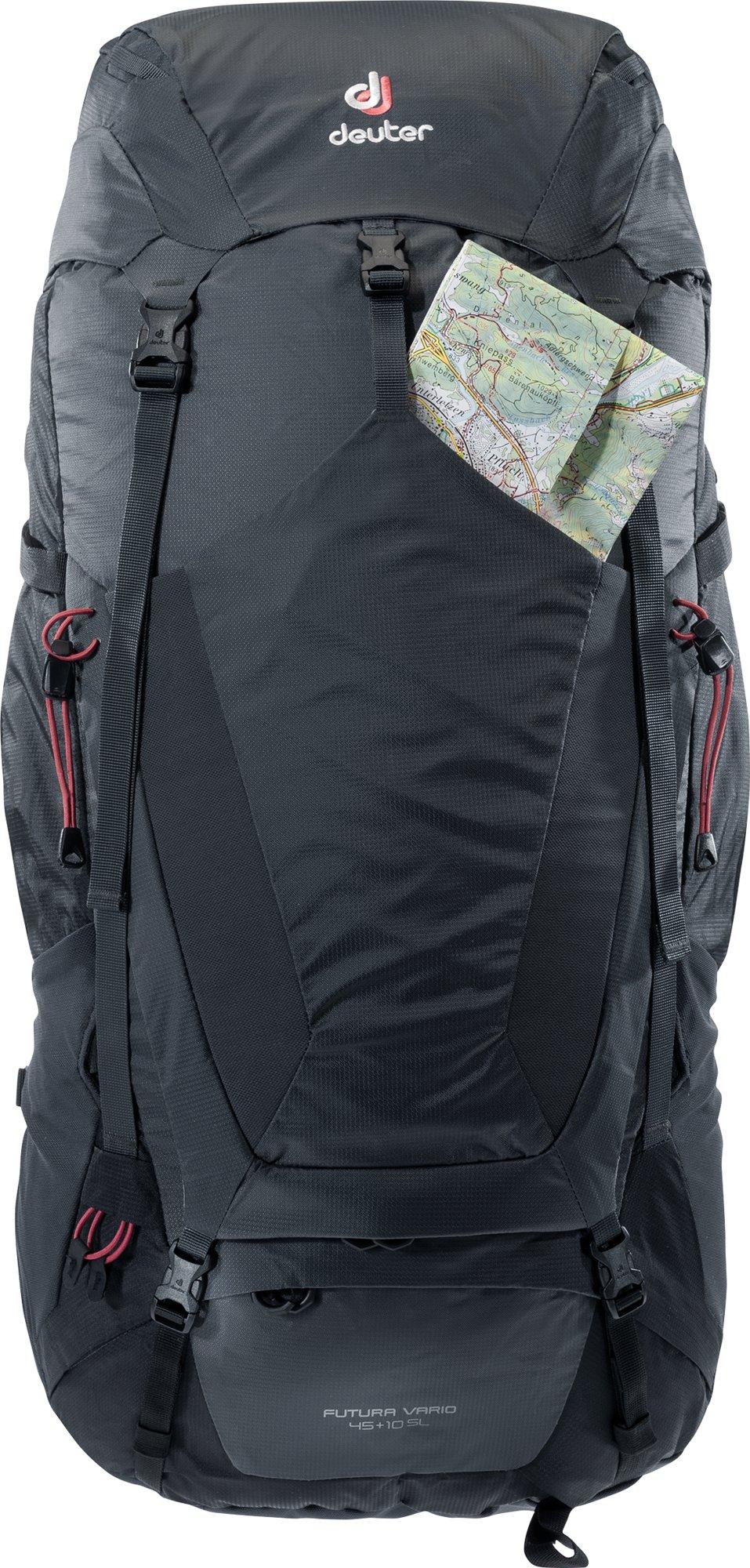 Deuter - Futura Vario 45 + 10 SL, Trekkingrucksack für Frauen