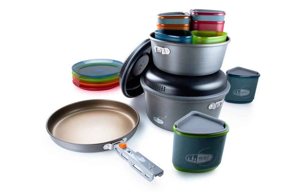 GSI - Pinnacle Camper, 4-Personen Kochset