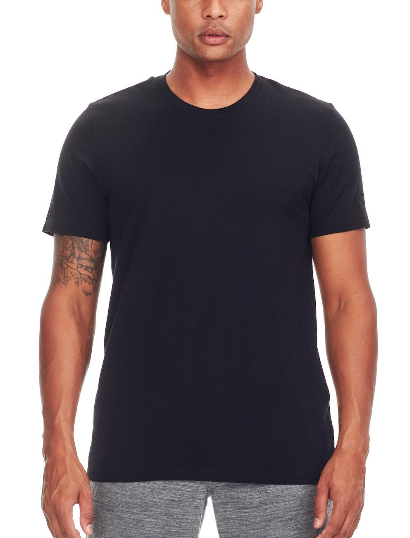 Icebreaker Merino Tech Lite T-Shirt Herren Black, Liveansicht 1