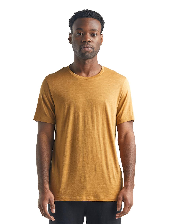 Icebreaker Merino Tech Lite T-Shirt Herren Coyote, Detailansicht 1
