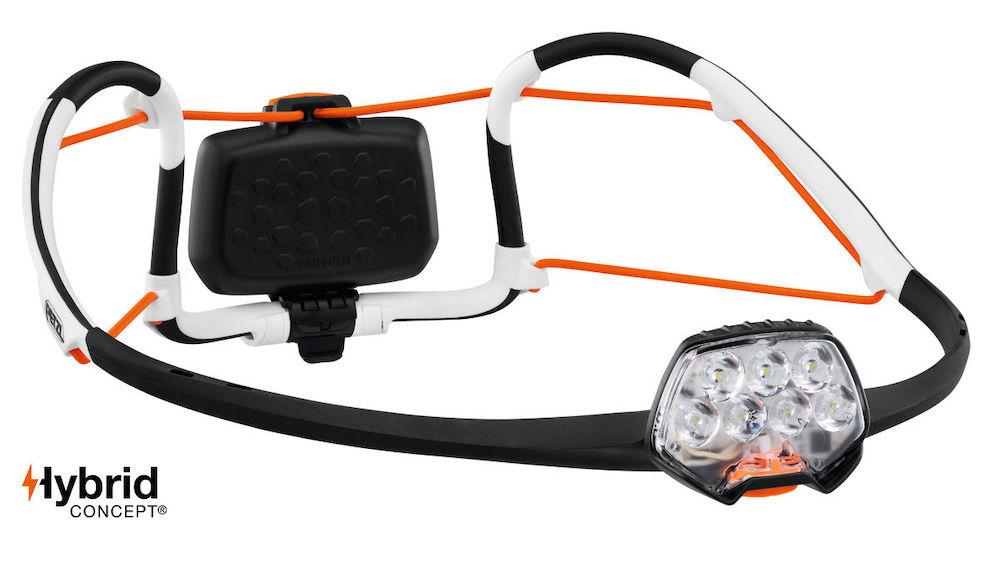 Petzl Iko Core Stirnlampe, Vorderansicht