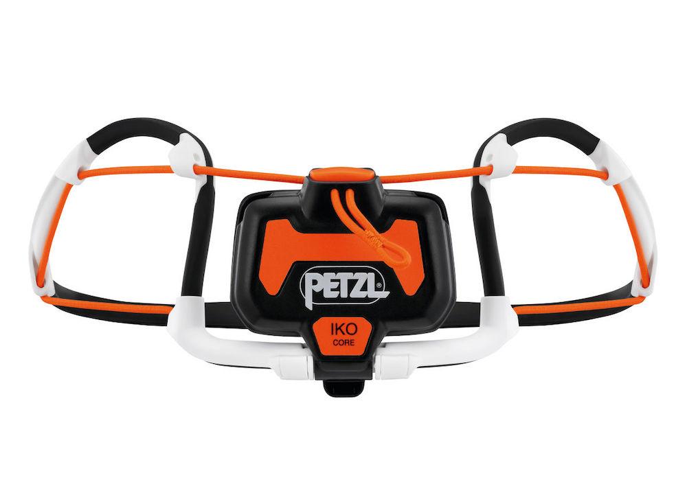 Petzl Iko Core Stirnlampe,  Rückansicht