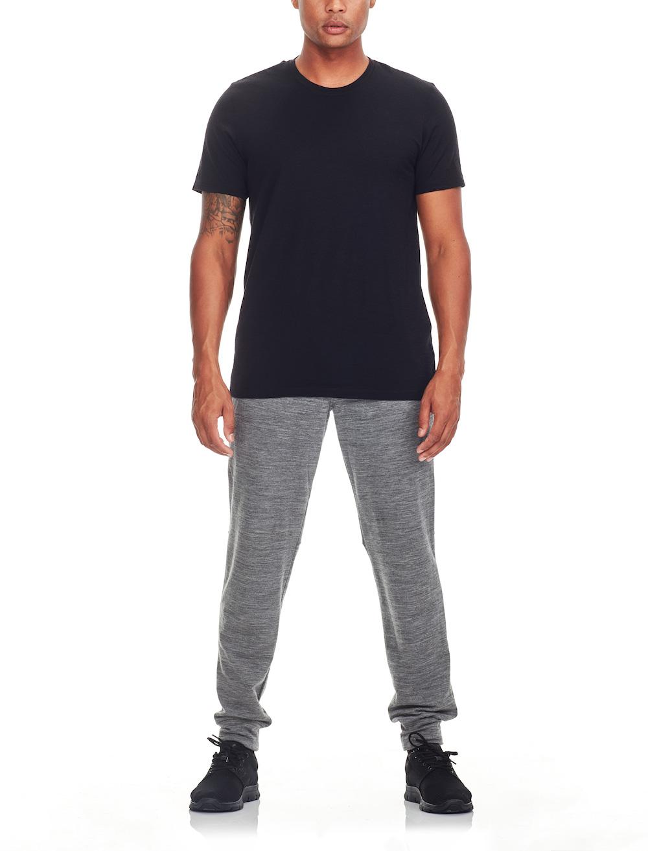 Icebreaker Merino Tech Lite T-Shirt Herren Black, Liveansicht 3
