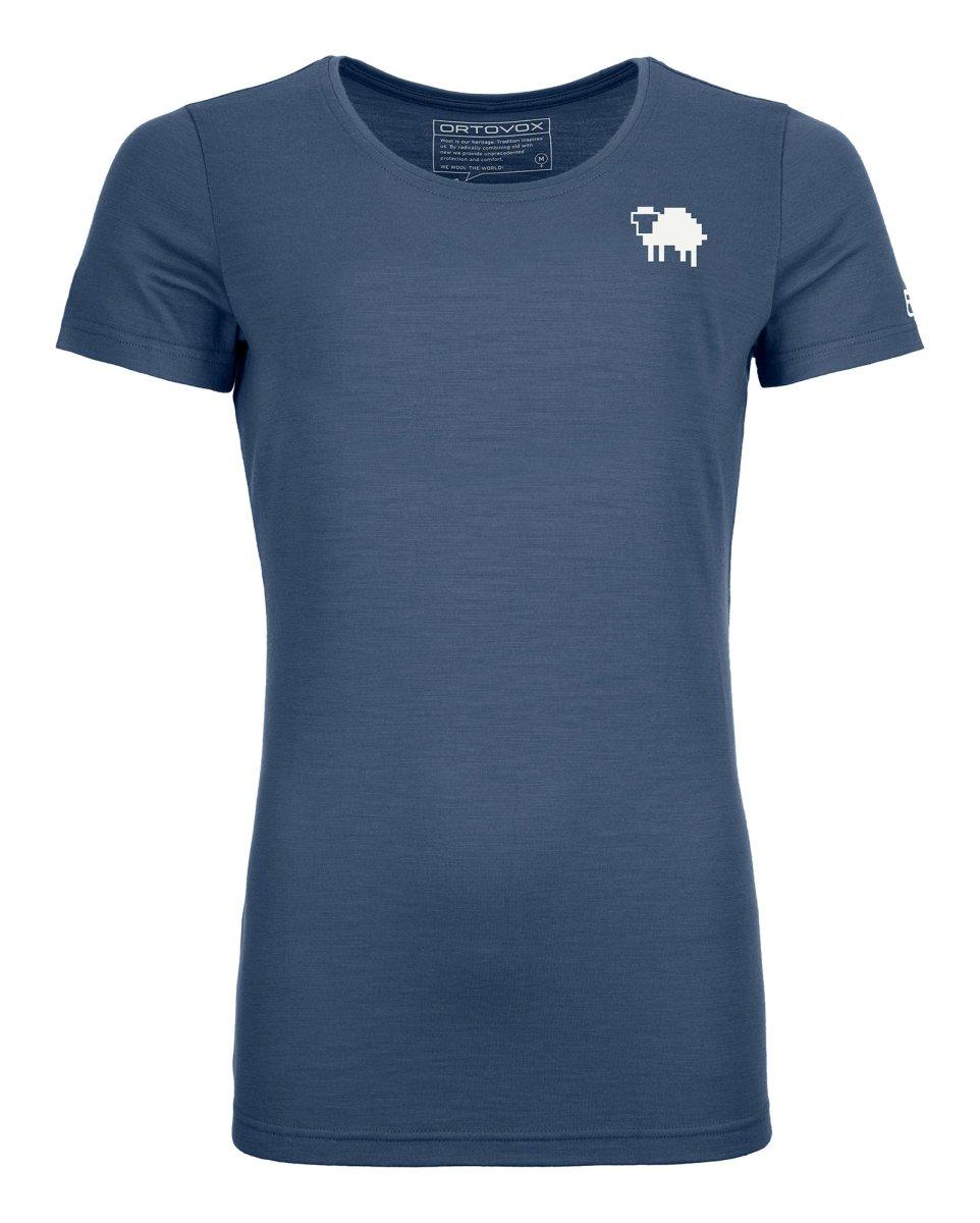 Ortovox - 185 MERINO PIXEL SHEEP TS - T-Shirt aus reiner Merinowolle für Frauen
