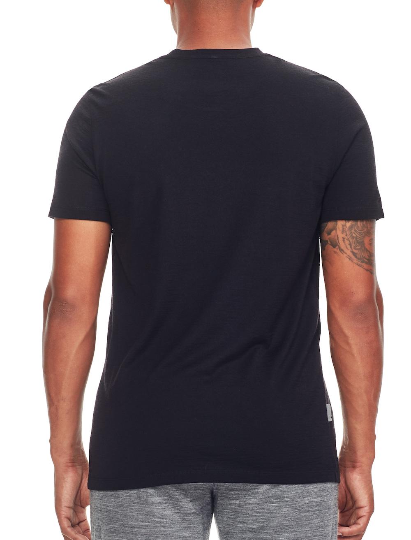 Icebreaker Merino Tech Lite T-Shirt Herren Black, Liveansicht 2