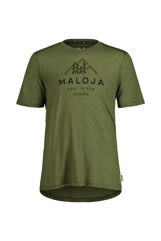 Maloja MailM. T-Shirt Moss, Vorderansicht