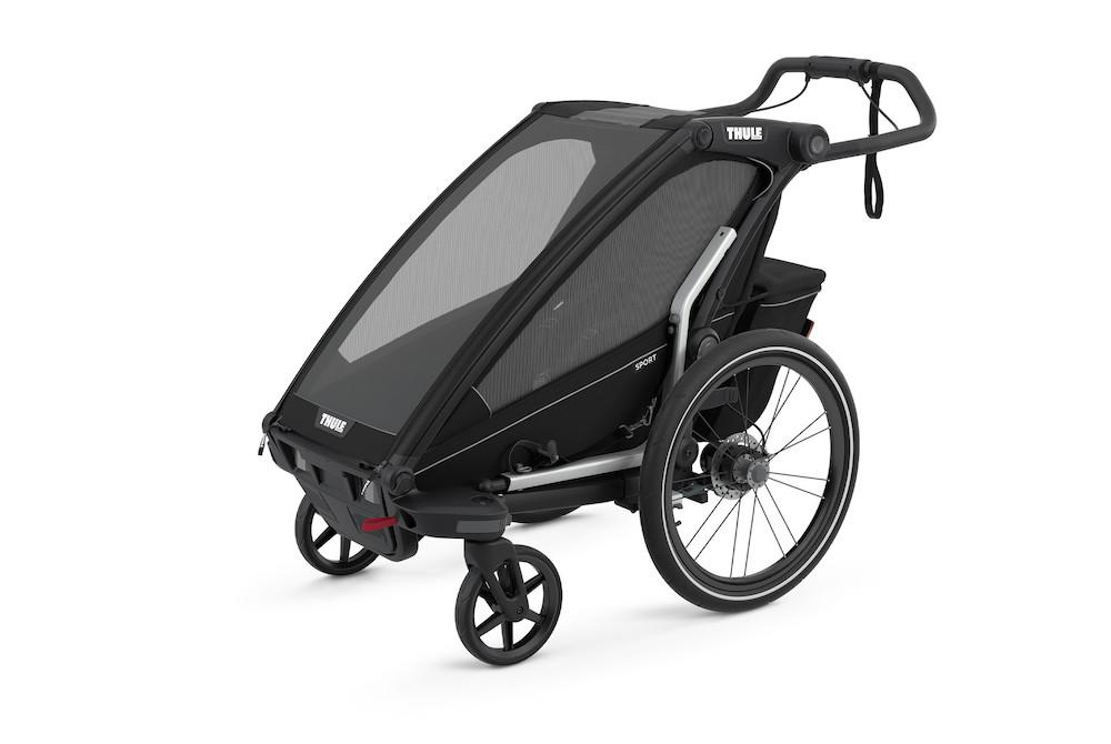 Thule Chariot Sport 1 Midnight Black, Detailansicht 2