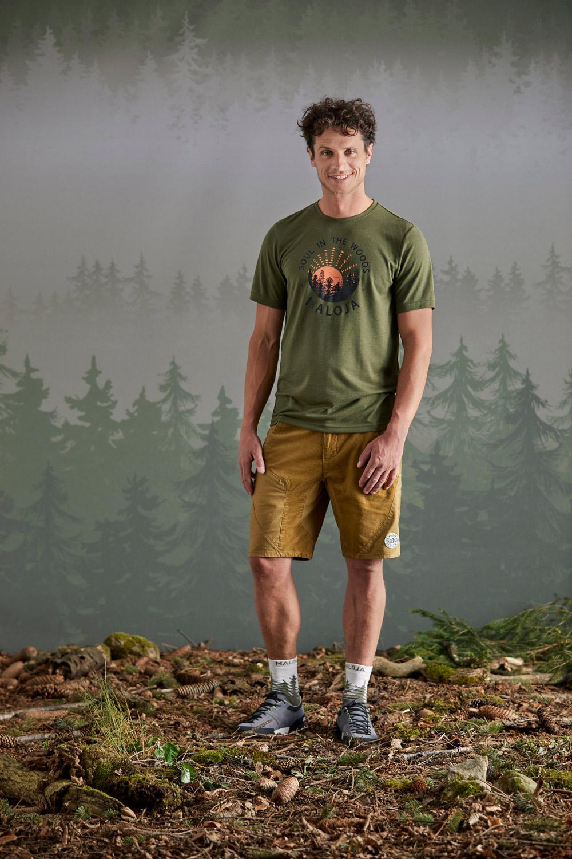 Maloja EberescheM. Moss T-Shirt, Liveansicht 1