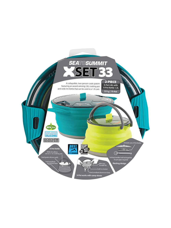 Sea to Summit - X-Set: 33 2pc, Kochtopf-Set