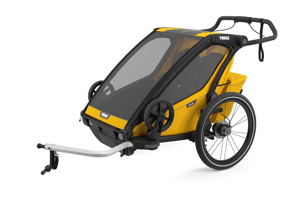 Thule Chariot Sport 2 Spectra Yellow, Vorderansicht