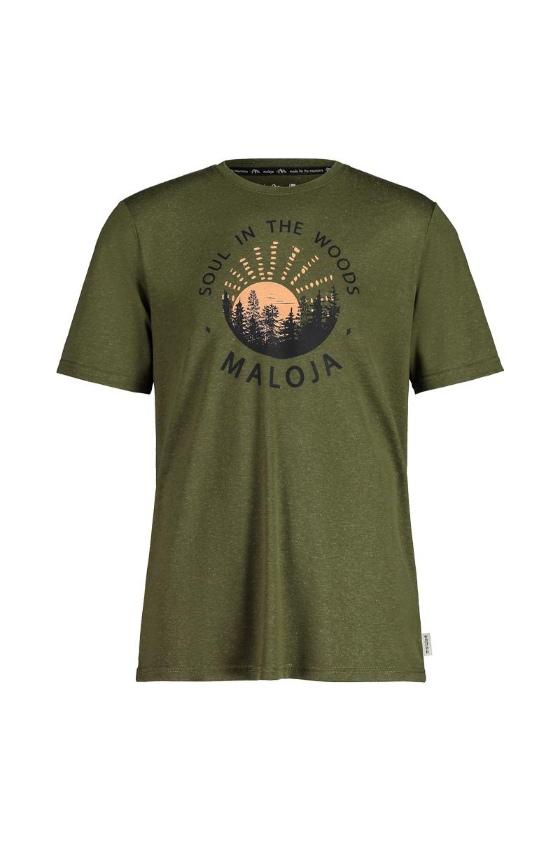 Maloja EberescheM. Moss T-Shirt, Vorderansicht