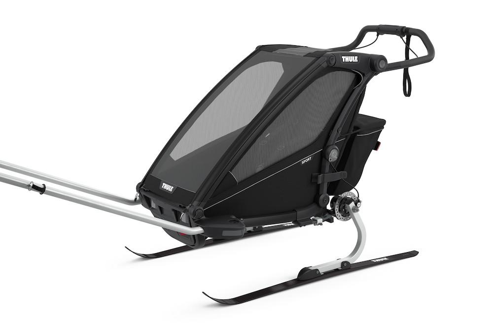 Thule Chariot Sport 1 Midnight Black, Detailansicht 4