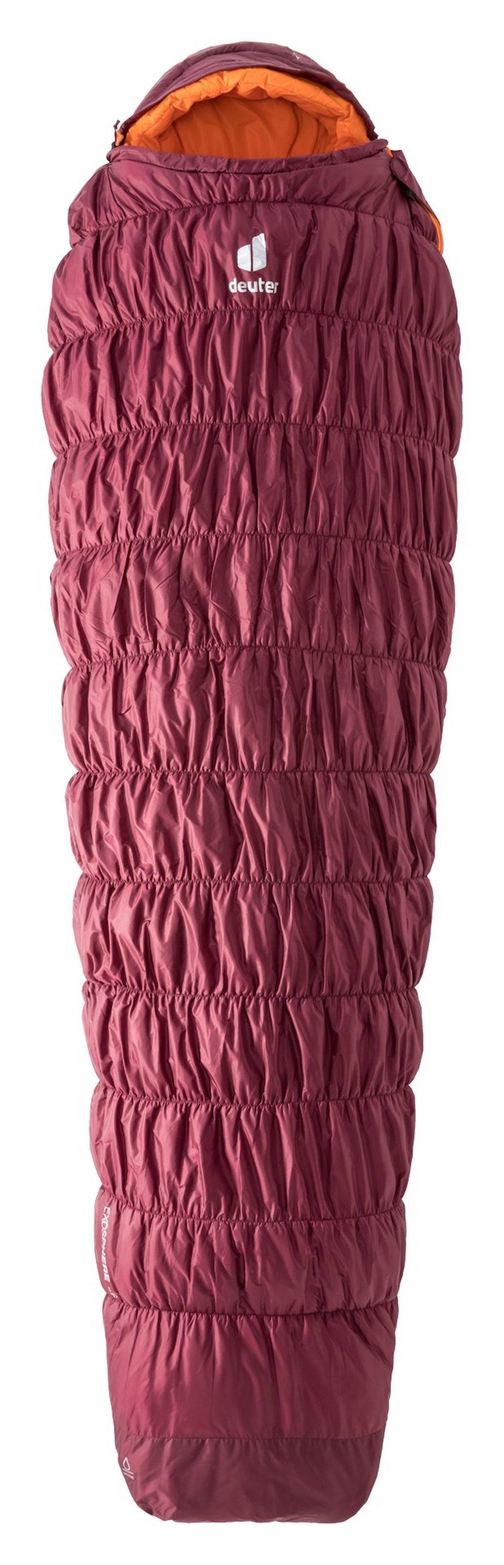 Deuter - Exosphere -6° SL / Zip left, Kunstfaserschlafsack für Frauen
