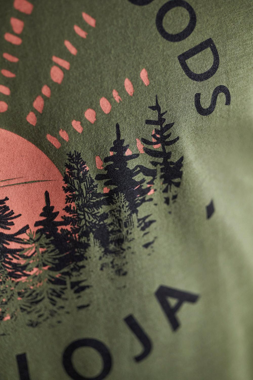 Maloja EberescheM. Moss T-Shirt, Detailansicht