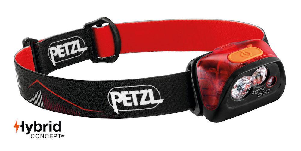 Petzl Actik Core Stirnlampe, Red Vorderansicht