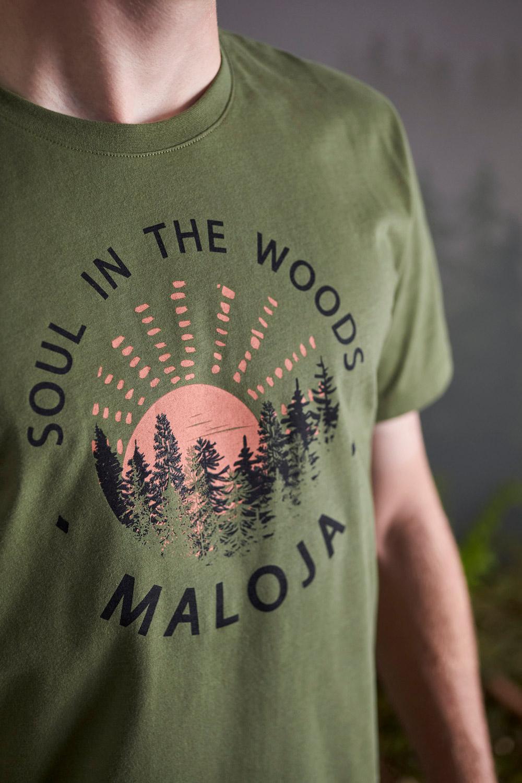 Maloja EberescheM. Moss T-Shirt, Liveansicht 2