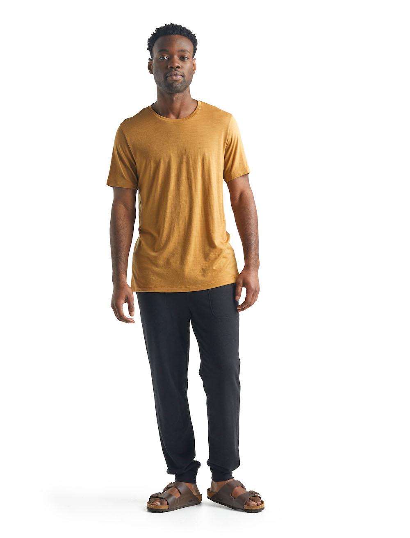 Icebreaker Merino Tech Lite T-Shirt Herren Coyote, Detailansicht 3