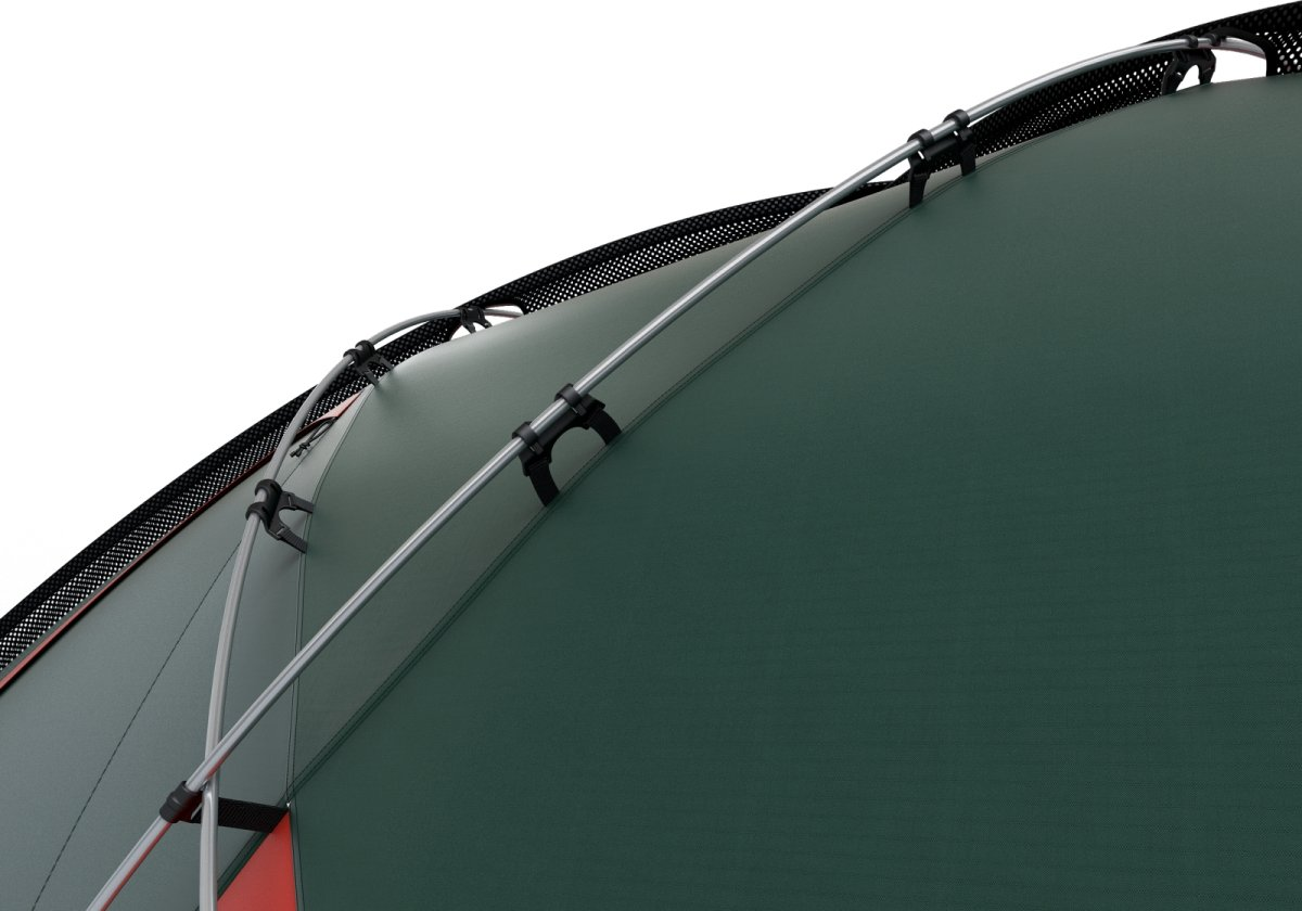 Fighter 3-4 green, geodätisches Zelt