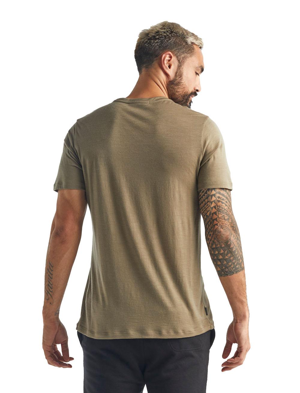 Icebreaker Merino Tech Lite T-Shirt Herren Flint, Liveansicht 2
