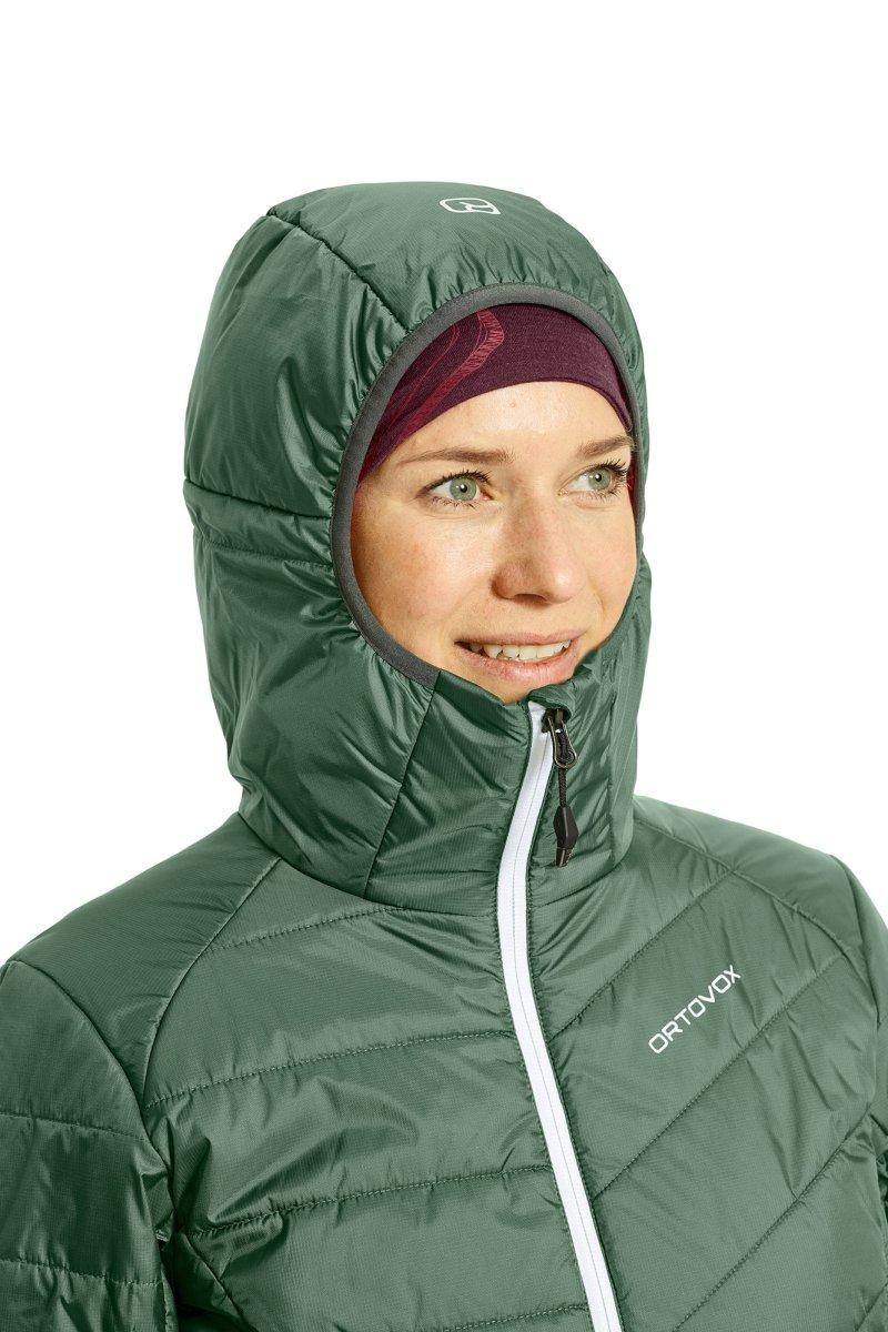 Ortovox - SWISSWOOL PIZ BERNINA JACKET - Warme Jacke für Frauen mit SWISSWOOL-Isolation