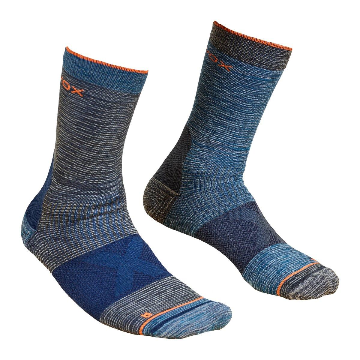 Ortovox - ALPINIST MID SOCKS - Bequeme, technische Merino-Socken für lange Bergtouren