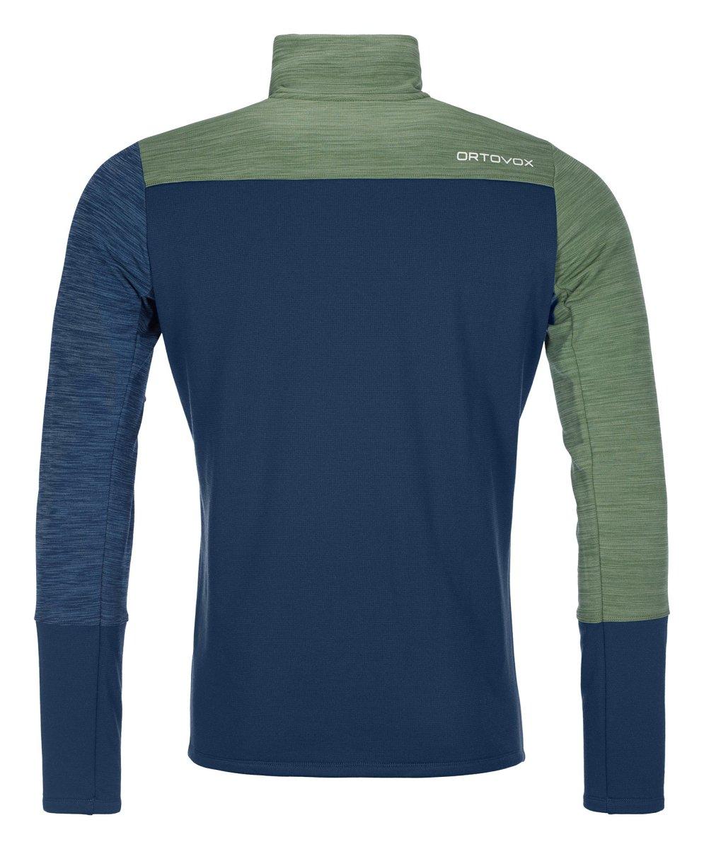 Ortovox - FLEECE LIGHT ZIP NECK - Leichte, körpernah geschnittener Fleece-Pullover