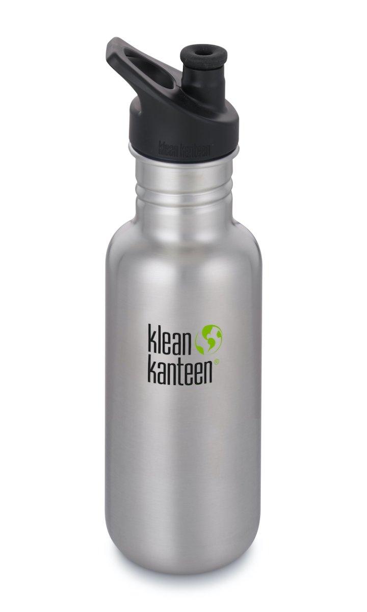 Klean Kanteen Classic, einwandig, Sport Cap - Trinkflasche