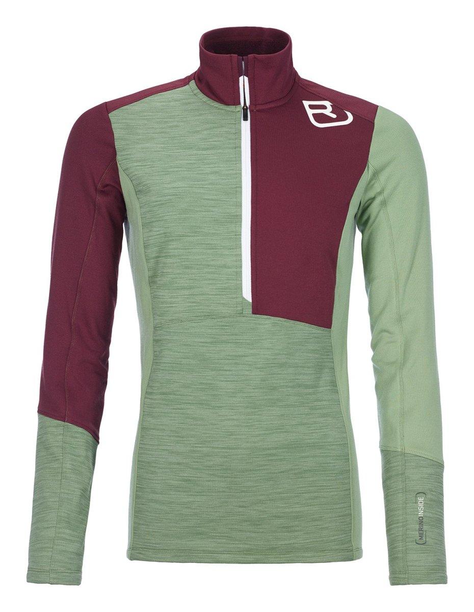 Ortovox - FLEECE LIGHT ZIP NECK - Leichte, körpernah geschnittener Fleece-Pullover für Frauen