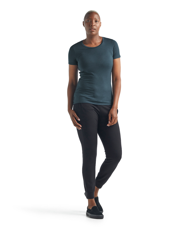 Icebreaker Merino Tech Lite T-Shirt Damen Serene, Lifeansicht 3