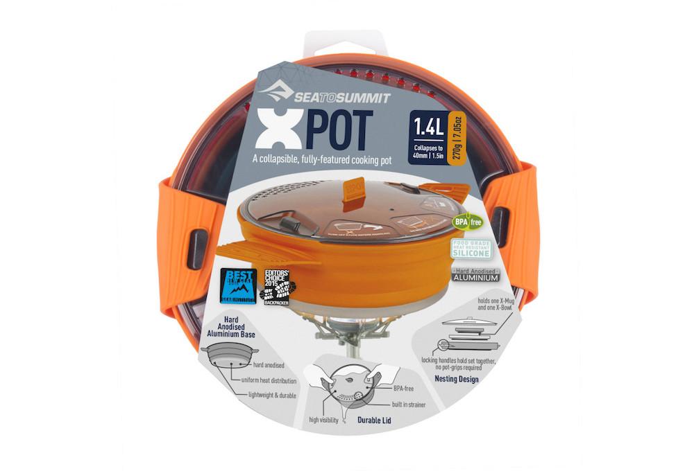 Sea to Summit - X-Pot 1.4 Orange, Detailansicht 4