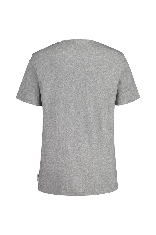 Maloja WeinbirneM. Grey Melange T-Shirt, Rückansicht