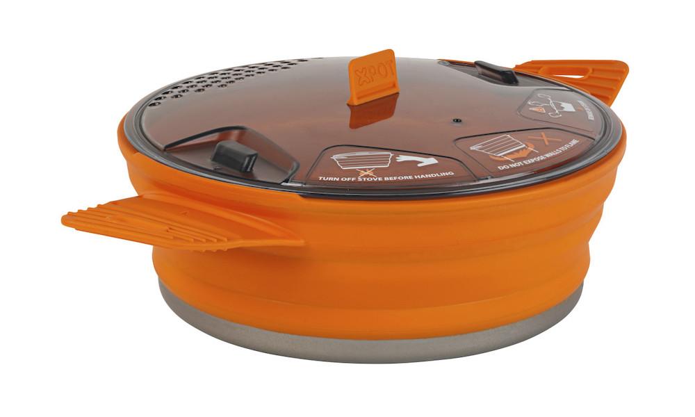 Sea to Summit - X-Pot 1.4 Orange, Vorderansicht