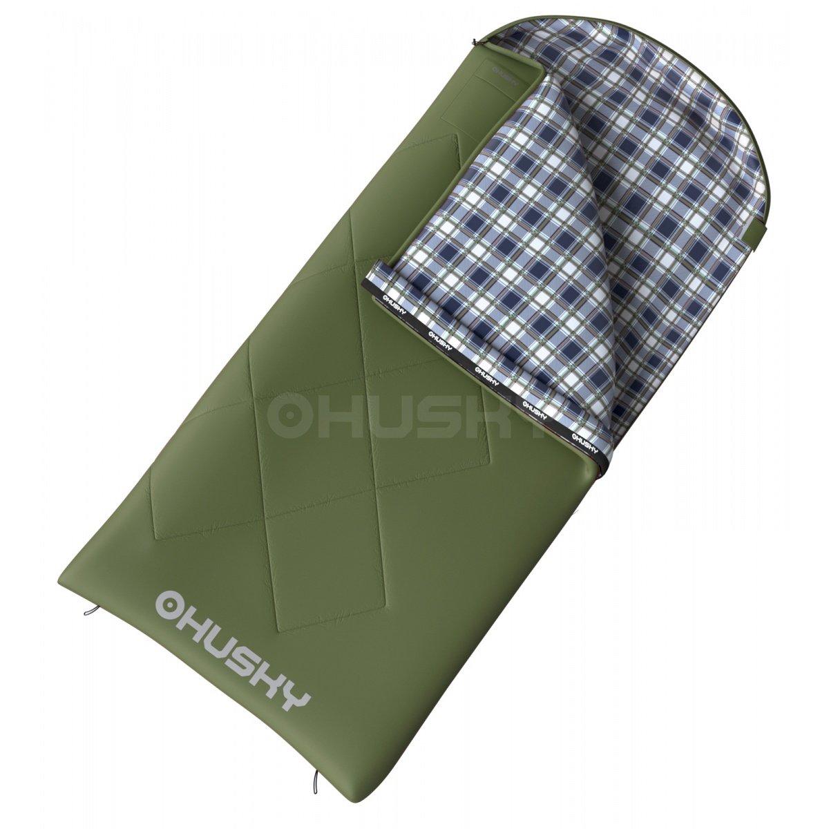 Husky - Kids Galy Green, Deckenschlafsack für Kinder