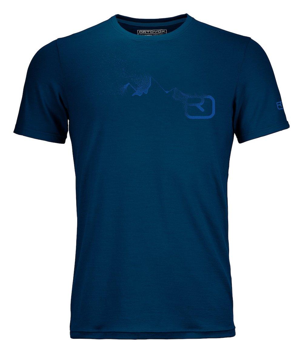 Ortovox - 185 Merino Logo Spray TS M, T-Shirt