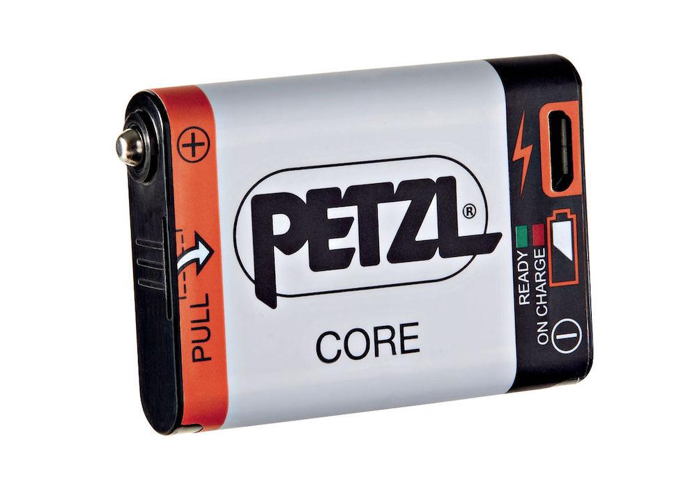 Petzl Core Akku, Vorderansicht