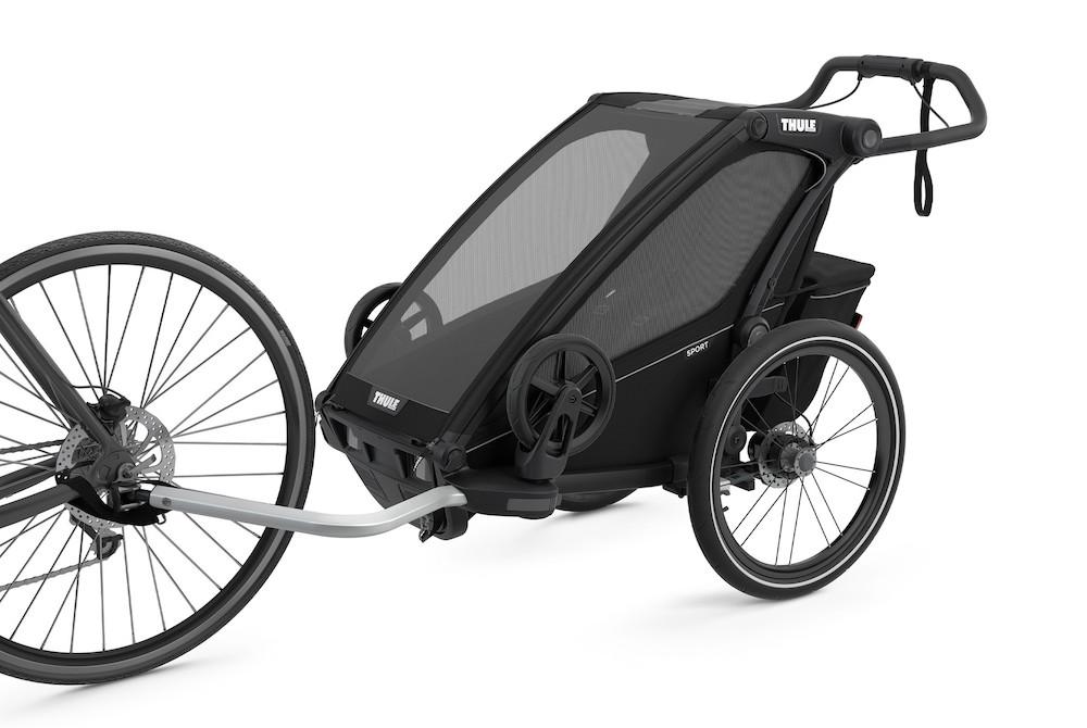 Thule Chariot Sport 1 Midnight Black, Detailansicht 1